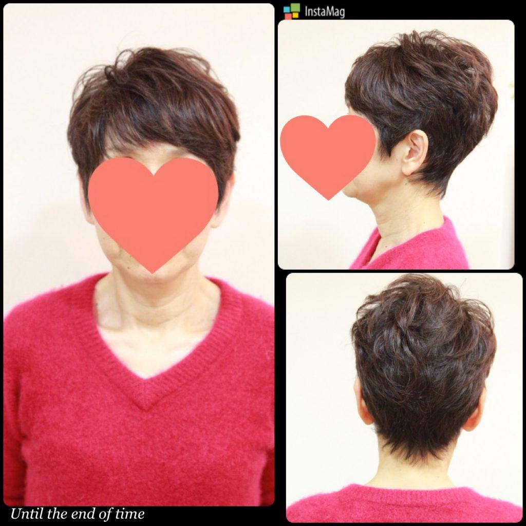 アラフィフ 髪型
