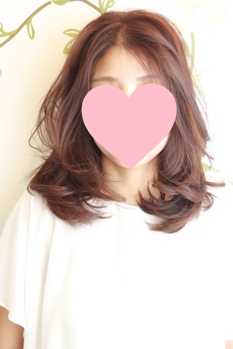 ドライカット 巻き髪