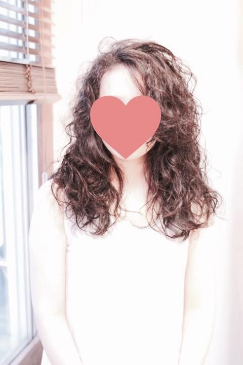 ワイルドなくせ毛