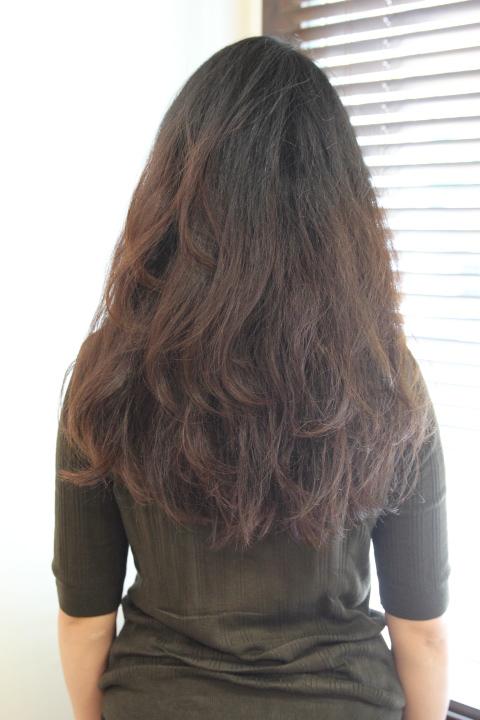 くせ毛 ロングヘア